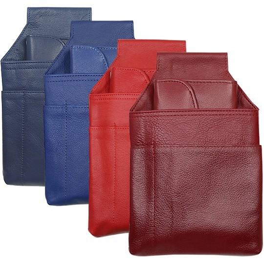 Serviceportemonnaie Und Halfter Set, Rot Und Blau